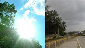 मध्य प्रदेश भोपालमेंबादल छाए 24 घंटों में भारी बारिश