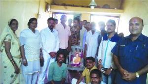 राजीव गांधी की जयंती मनाई