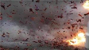 अलीगढ़ पटाखों में हुए विस्फोट से मां-बेटी की मृत्यु दो घायल
