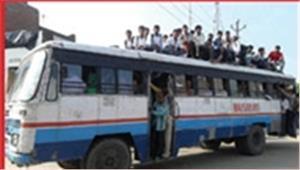 बिना परमिट दौड़ रहीं डग्गामार बसों पर होगी कार्रवाई