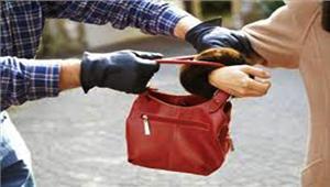 बेटी को स्कूल से लेकर लौट रही महिला से लूट