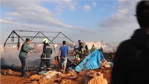 सीरिया-जॉर्डन सीमा पर शरणार्थी शिविर में विस्फोट