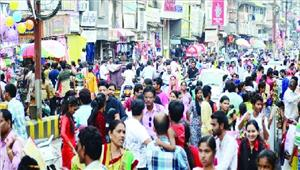दीपावली की खरीदारी शुरू बाजार हुआ गुलजार