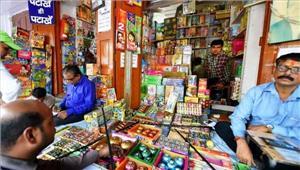 दिल्ली के पटाखा व्यापारियों में मायूसी