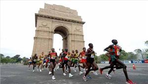 दिल्ली हाफ मैराथन रद्द करने की मांग