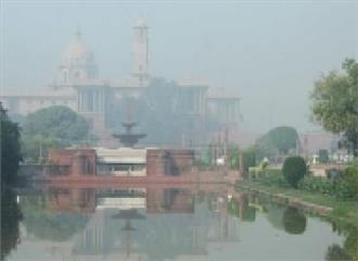 राजधानी दिल्ली मेंसुबह कोहरा छाई रही