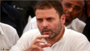 शिक्षा बजट कटौती पर राहुल ने योगी पर साधा निशाना