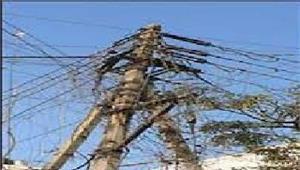 बिजली चोरी की सूचना मिलने पर की कारवाई