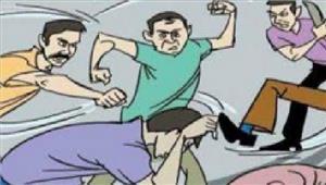 कर्मचारी से मारपीट के मामले में आरोपियों के खिलाफ मामला दर्ज