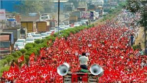 लंबा मार्च देश में किसान और किसानी की दयनीय हालत को बयां कर गया