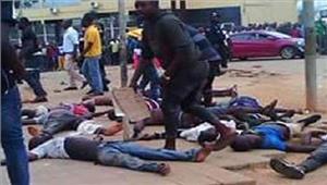 अंगोलाफुटबाल मैच के दौरान भगदड़ 17 लोगों कीमौत