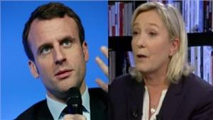 फ्रांसराष्ट्रपति चुनावपेन और मैक्रॉन के बीच होगामुकाबला