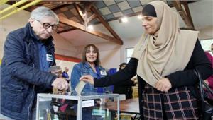 फ्रांसराष्ट्रपति चुनाव के प्रथम चरण के लिएवोट डाले जा रहेसुरक्षा कापुख्ता इंतजाम