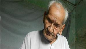 स्वतंत्रता सेनानी साकेत बिहारी का 96 की उम्र मेंनिधन