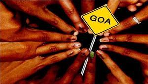 गोवा  शुरुआती 2 घंटों में 15 फीसदी मतदान