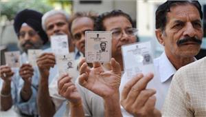 गोवा चुनाव40 सीटों पर मतदान जारी