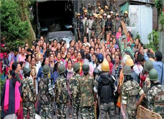 गोरखालैंड आन्दोलन से सिक्किम का जनजीवन प्रभावित