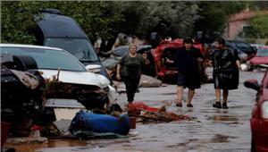 ग्रीस में बाढ़ से भारी तबाही 15 की मौत