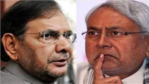 गुजरात राज्यसभा चुनावनीतीशशरद हुए आमने-सामने