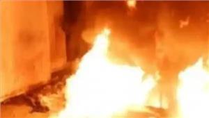 मकान में अचानक आग लगने से 2 लोगों की मौत