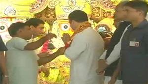 राहुल गांधी ने जगन्नाथ मंदिर मेंपूजा अर्चना की
