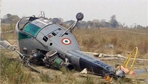 असम चापोरी इलाकेमेंहेलिकॉप्टर दुर्घटनाग्रस्त