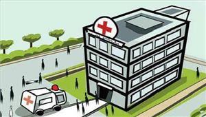 मरीजों ने किया जिला अस्पताल में जमकर हंगामा