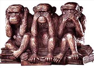 कितना समझ पाए हैं गांधी जी के तीन बंदर को