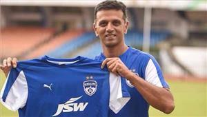 राहुल द्रविड़ बने बेंगलुरु एफसी के ब्रैंड एम्बेसेडर