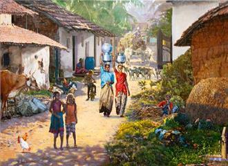 बढ़ती आत्म-निर्भरता से ही बचेंगे गांव