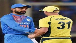 भारत और आस्ट्रेलिया सीरीज 1-1 से बराबर