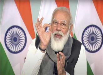 विकास के लिए नए भारत का उदय हो रहा मोदी