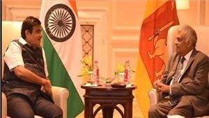 भारत श्रीलंका ने एमओयू पर हस्ताक्षर किए