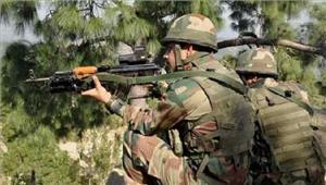 कश्मीर सेना ने पाकिस्तानी घुसपैठियों की कोशिश को नाकामकिया