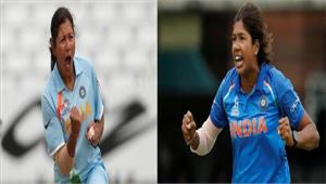 महिला क्रिकेट चोटिल झूलन गोस्वामी की जगह लेंगी रुमेली धर