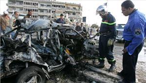 इराक  आईएसके आत्मघाती हमले में 10की मौतऔर 13घायल