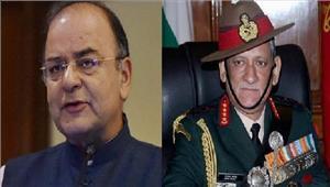 जम्मू-कश्मीरअरुण जेटली औरबिपिन रावतसुरक्षा हालात की समीक्षा करेंगे