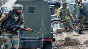 जम्मू कश्मीरआतंकवादियों ने सुरक्षाबल के वाहन पर हमला किया