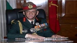 जम्मू एवं कश्मीर में सुरक्षा स्थिति में सुधार  सेना प्रमुख