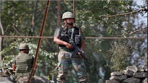 जम्मू एवं कश्मीर में सुरक्षा बलों व आतंकवादियों के बीच मुठभेड़