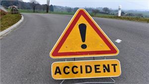 कानपुरसड़क दुर्घटना में स्कूटी सवार 2भाइयों की मौत