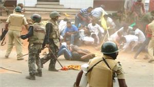 टीपू सुल्तान जयंती केविरोध परभाजपा के सैंकड़ाें कार्यकर्ता हिरासत में