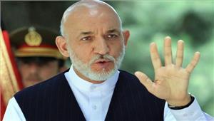 अफगानिस्तान करजई नेअमेरिकी सुरक्षाबलों की मौजूदगीके खिलाफ कड़ा रुख जाहिर किया