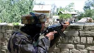 कश्मीर  पुलिस पिकेट पर आतंकी हमला जवाबी कार्रवाई