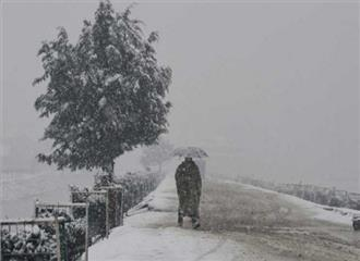 श्रीनगर में मौसम की सबसे ठंडी रात