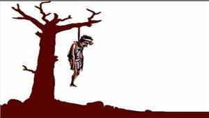 छत्तीसगढ़ किसान ने फांसी लगाकर की आत्महत्या