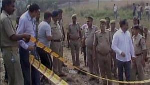 संतकबीर नगर रेलवे ट्रैक पर बम विस्फोट में 1 युवक घायल