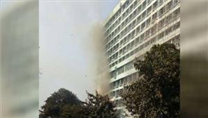 कोलकाता iofbके मुख्यालय में लगी आग