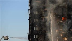 लंदन अग्निकांड मेंमरने वालों की संख्या 12 हुई