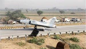 लखनऊ-आगरा एक्सप्रेस-वे परवायु सेना के लड़ाकू विमानउतारेजायेंगे